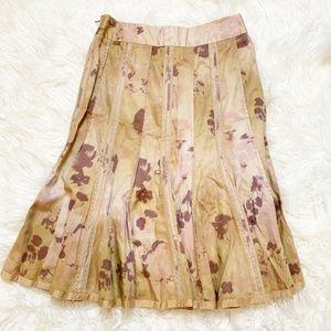 ANTHROPOLOGIE ODILLE Floral Skirt 2